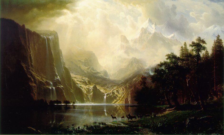 Twenty-four American landscape artists