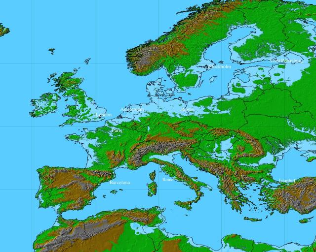 European Nations 1200 2100 A Data Document For Analysis Of