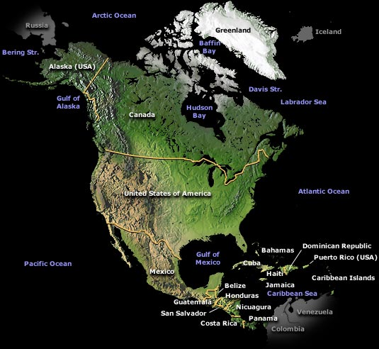 Costa Rica Usa Map.Usa Map Information