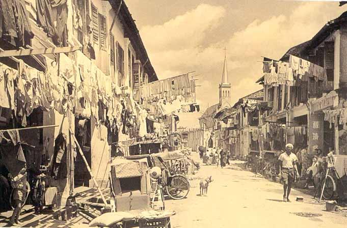 Singapura, 1950-1960